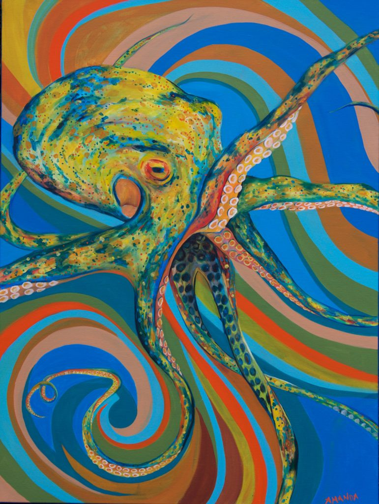 Octopus [ Acryl on Canvas ]