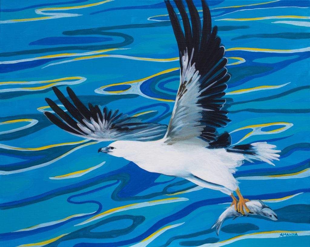 Seagull [ Acryl on Canvas ]